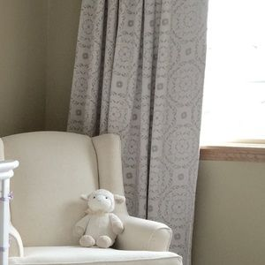 Pottery Barn Kids Blackout Curtains. Set of 4.
